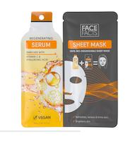 Face Facts Serum Sheetmask - Regenerating
