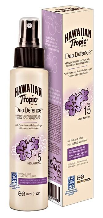Hawaiian Tropic Duo Defance Mist SPF15 100 ml