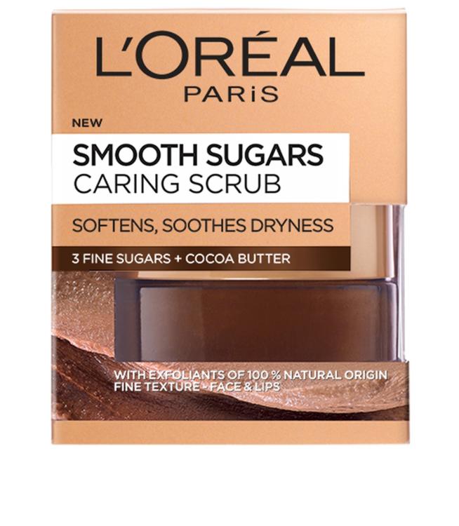 L'ORÉAL PARIS Smooth Sugars Nourish Scrub Cocoa 50 ml