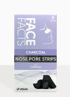 Face Facts  Charcoal Nose Pore Strips 6 st