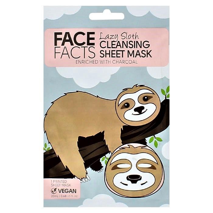 Face Facts Printed Sheet Mask - Lazy Sloth