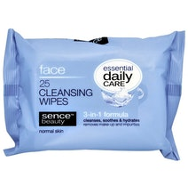 Sencebeauty Facial Cleansing Wipes 3-in-1  25-pack