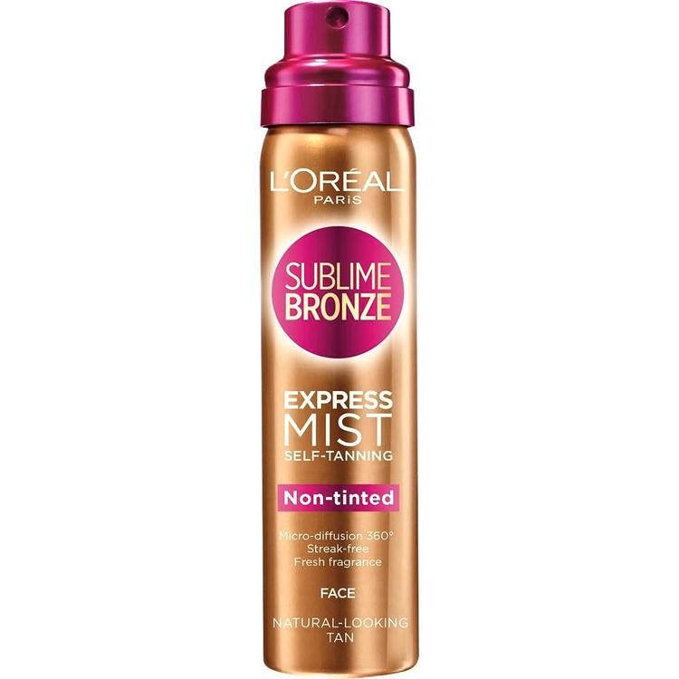 L'Oréal Paris Sublime Bronze Express Mist Selt-Tanning Face 75 ml