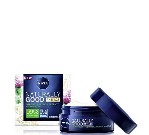 NIVEA Naturally Good Anti Age Night Cream 50 ml