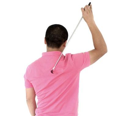 Utfällbar ryggkliare