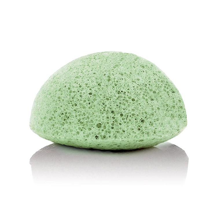 Grön konjac svamp