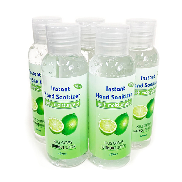 Handsprit (fem flaskor) - Handdesinfektion - 500ml - (5stx100ml)