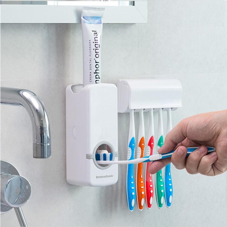 Tandkräm och tandborsthållare