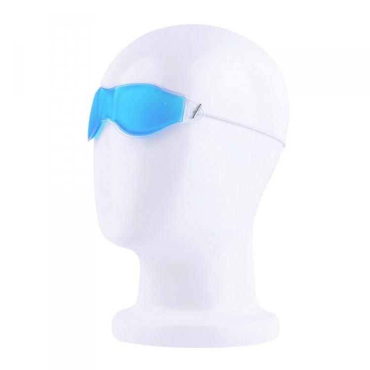 Kylande ögonmask bidrar till att minska påsar under ögonen.