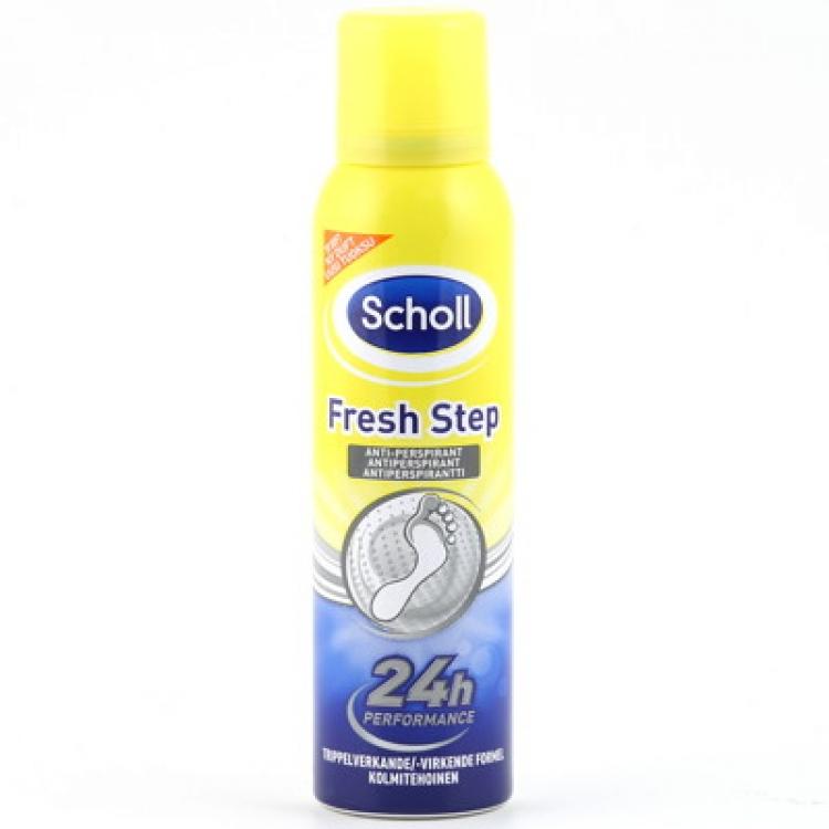 Scholl - spray mot fotsvett