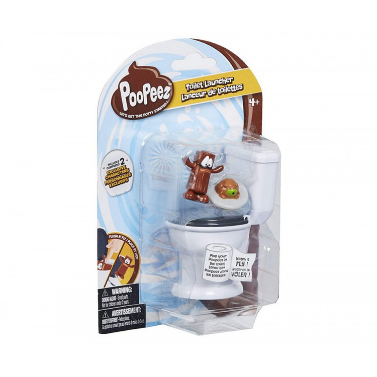 Poopeez Toilet Launcher 2 collection figures 14x21