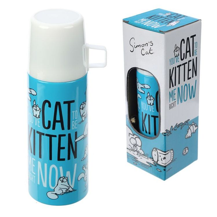 Simon's Cat Termos 350ml Rostfritt Stål