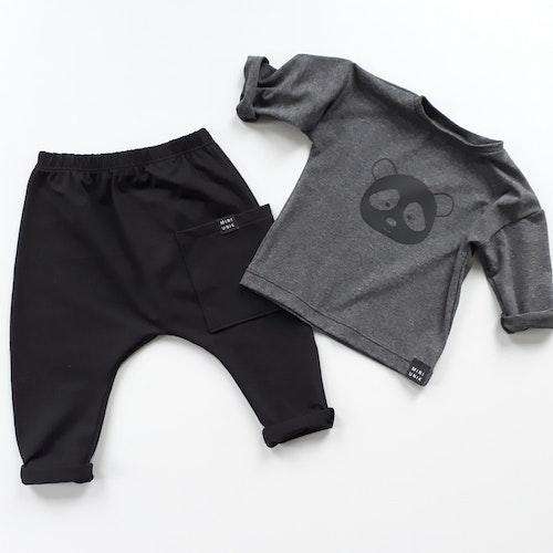 Panda sweater - Dark Grey