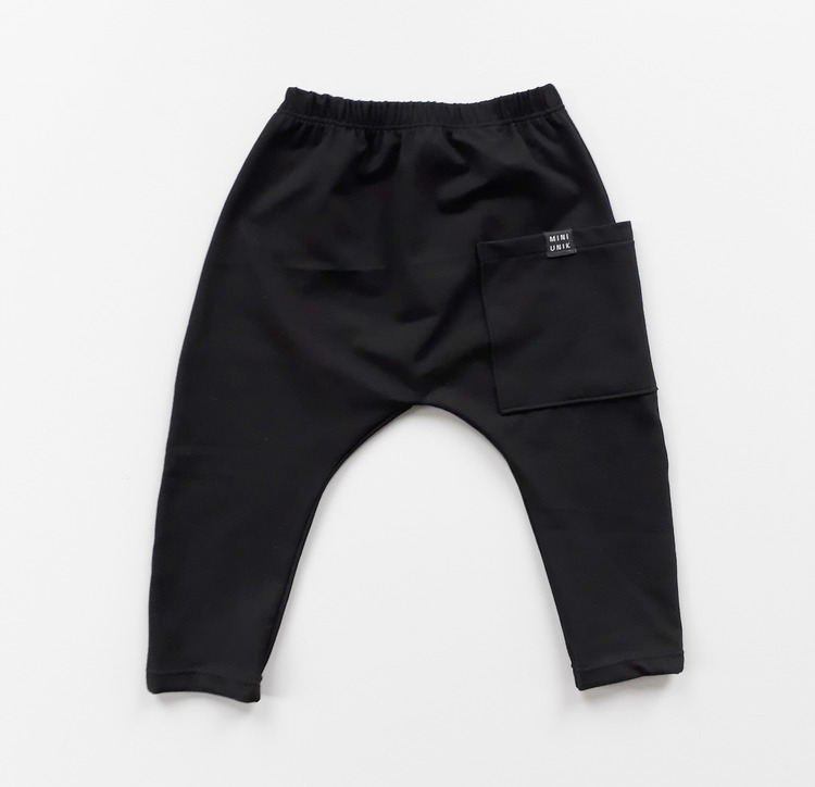 Pocket pants - Black