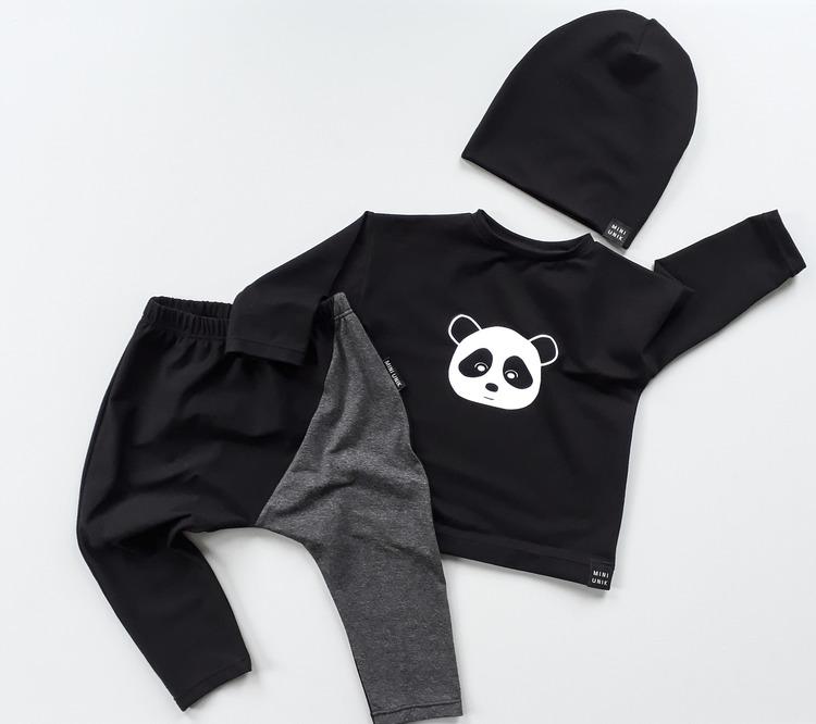 Panda sweater - Black