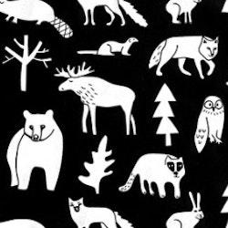 DRY BIB FOREST ANIMALS