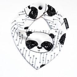 DRY BIB WHITE PANDA