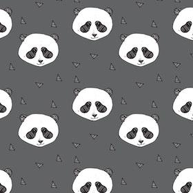 Grey Panda beanie