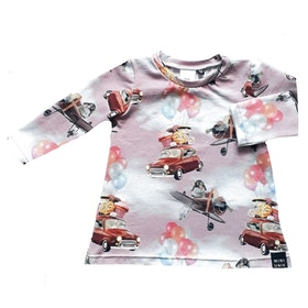 Car and balloon dress (NEWS) (size 62-92)