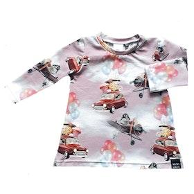 Car and balloon dress (NEWS) (size 62-92)