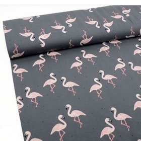 Flamingo dress (NEWS)
