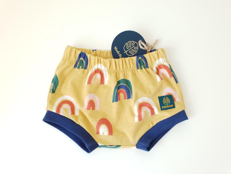 Senap regnbåge shorts