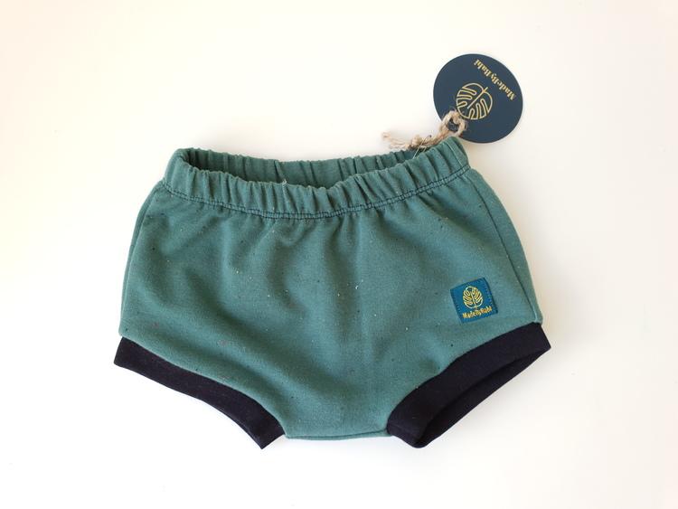 Green confetti shorts