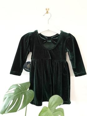 Grön Amelie-klänning