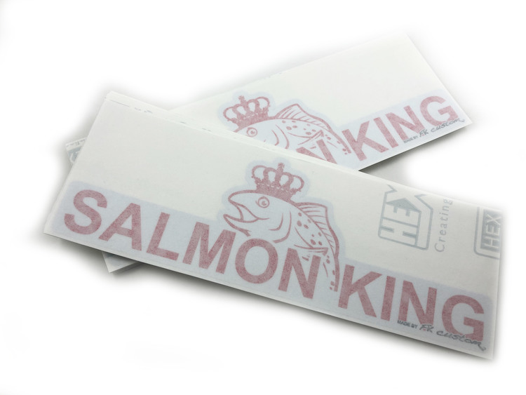 Salmon King logga 300mm x 109mm