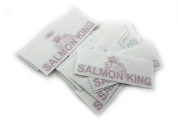 Salmon King logga 120mm x 43mm