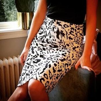 Skirt Britt Annie B/W