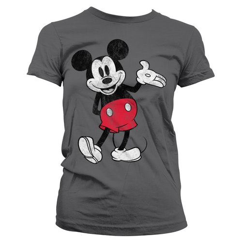 Mickey Mouse Distressed T-Shirt