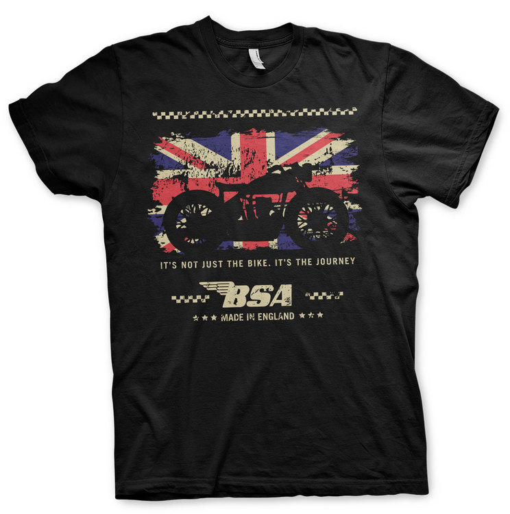 B.S.A. Motor Cycles - The Journey T-Shirt
