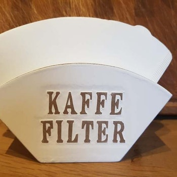 Kaffefilter hållare i trä Different Design