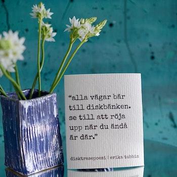 disktrasa ALLA VÄGAR Design Erika Tubbin