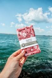 Plastfri disksvamp 2-pack | rosa blommig
