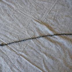 Kedja med krok 53 cm - Antiksvart