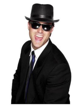 Gangster solglasögon Maskerad