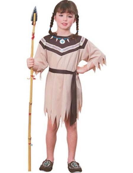 Indian klänning Barn Maskeraddräkt