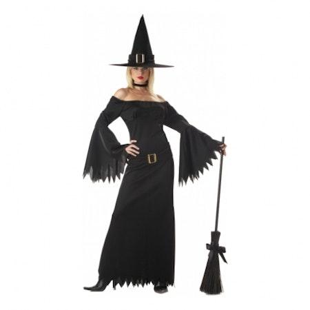 Elegant häxa Maskeraddräkt Halloween