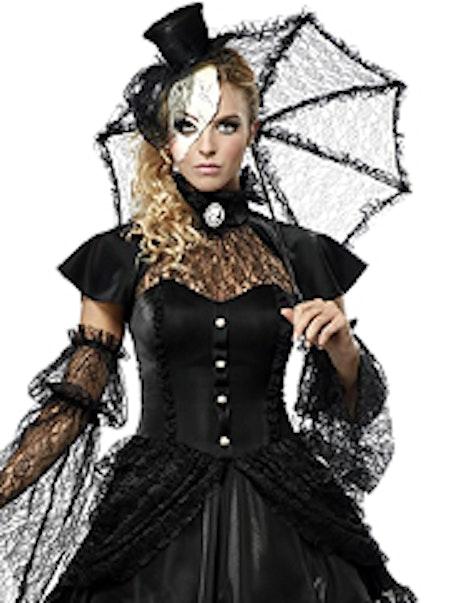 Viktoriansk Docka Maskeraddräkt Halloween