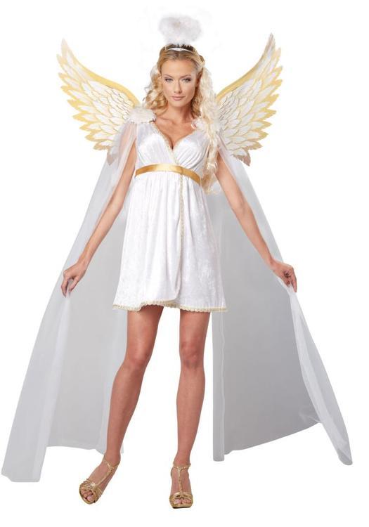 Ängel gudinna Skyddsängel Maskeraddräkt