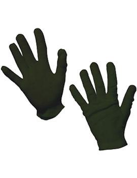 Svarta korta handskar Maskerad