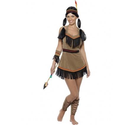 Indian klänning Maskeraddräkt