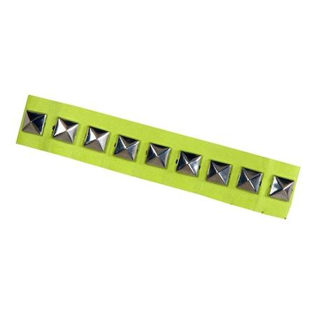Kraghalsband med nitar