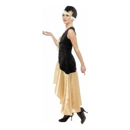 20-tals Gatsby Girl Maskeraddräkt