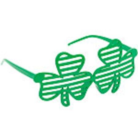 St Patricks glasögon
