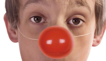 Clownnäsa Röda 6-Pack