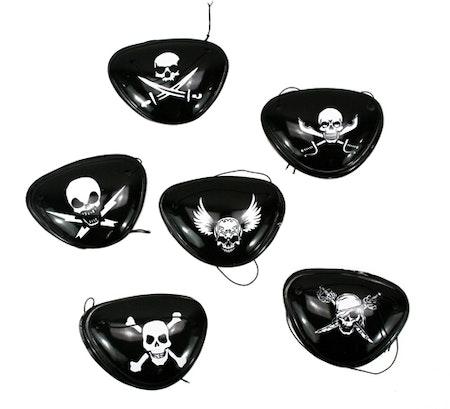 Ögonlapp pirat Maskerad