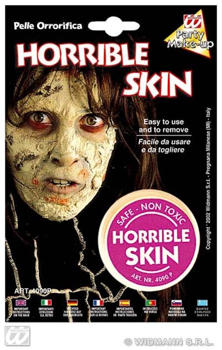 Hemsk hud Halloween Smink
